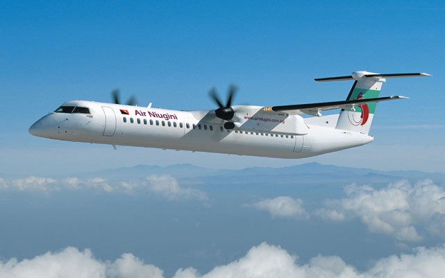 A file image of an Air Niugini Q400. (Australian Aviation archive)