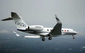 The G650 has demonstrated its Mach 0.925 max speed. (Gulfstream)