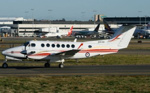 kingAir 350 army SYD #C6253 SJ