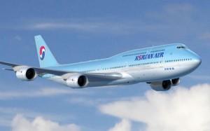 Korean Air 747-8I Artwork
