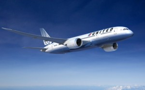 A rendering of a United 787-8. (Boeing)
