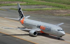 A Jetstar Pacific 737-400.