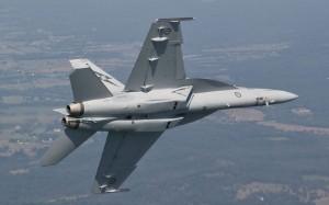 Raytheon Australia will provide RAAF Super Hornet training services. (Boeing)