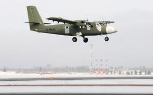 C-FMJO makes its first flight. (Viking)