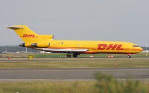 Tasman Cargo's hushkitted 727-200F, VH-DHE. (Andrew McLaughlin)