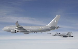 Airbus Military has received an STC for its tanker mods to the A330. (Airbus Military)