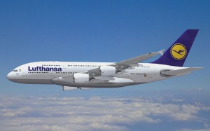 Lufthansa will begin A380 services in June. (Airbus)