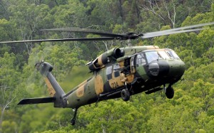 Team Romeo would refurbish and on-sell ADF Black Hawks (pictured) and Seahawks. (Dept of Defence)