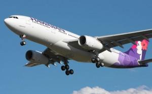 Hawaiian's first A330.