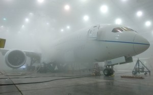 ZA003 is cold soaked. (Boeing)