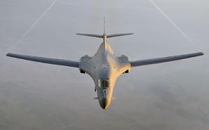 A B-1B over Afghanistan. (USAF)