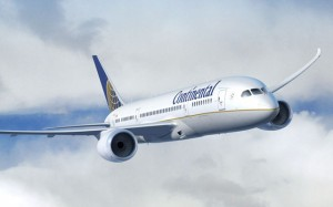 Continental will 787s to Auckland.