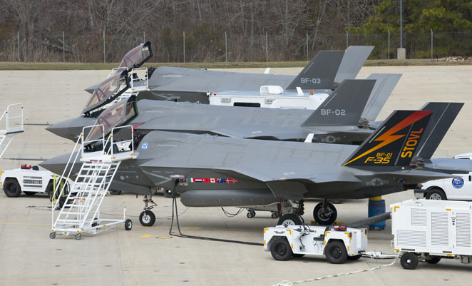 Reports in the US indicate the F-35 fire on June 23 was engine-related.(Lockheed Martin)
