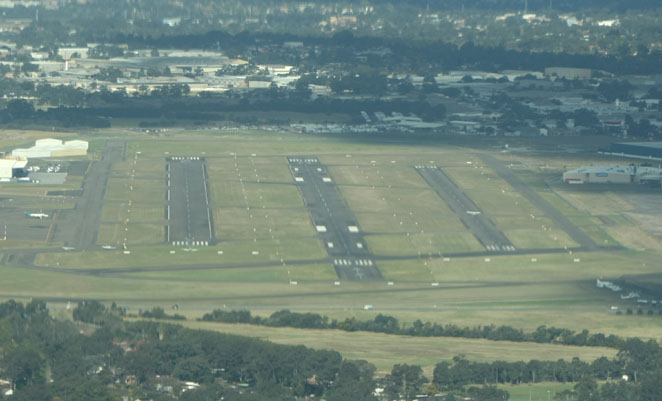 Bankstown Airport from the air. (Paul Sadler)