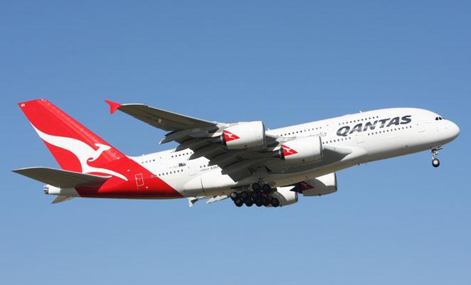 Qantas is continuing to fly over Iraq. (Gordon Reid)
