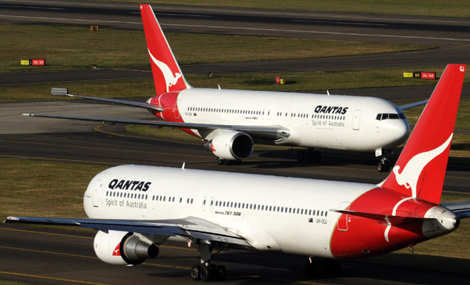 Qantas will cut 167 more engineers from its workforce. (Rob Finlayson)