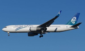 A file image of an Air NZ 767.