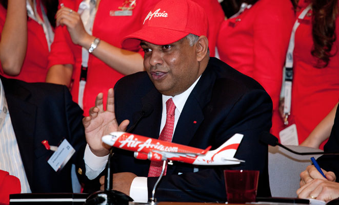 tony fernandez leadership in air asia The purpose of transformational leadership  as a founder of tune air sdn bhd air asia became successful and the best airline in asia after tony fernandes.