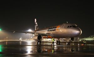 A file picture Jetstar Japan's first A320 at Narita.