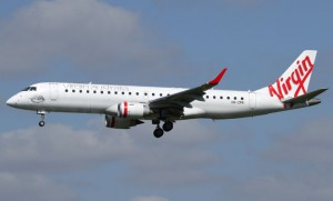 Virgin Australia is eliminating the Embraer E190 from its fleet. (Seth Jaworski)