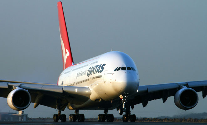 Qantas will use Airbus A380s on its SYD-DFW route from Sept 14. (Rob Finlayson)