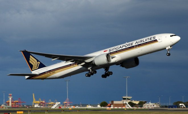 Singapore Airlines' 777s and Scoot's 787s will be the first customers of the new JV. (Rob Finlayson)