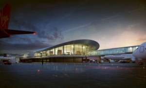 Perth Airport's planned new terminal development. (Perth Airport)