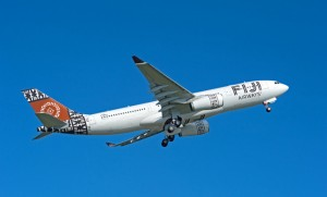 Air Pacific was relaunched as Fiji Airways. (Airbus)