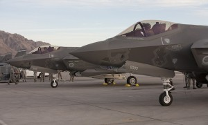 F-35 concurrency modification work is underway at Hill AFB. (Lockheed Martin)
