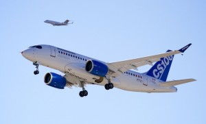 Development costs for the CSeries have blown out to more than US$4 billion. (Bombardier)