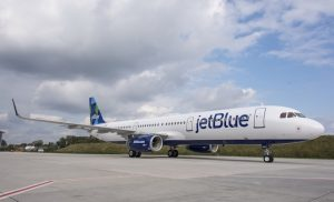 JetBlue has taken delivery of its first A321.