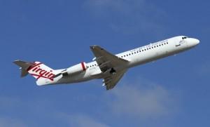 Virgin will use Fokker 100s to Paraburdoo. (Dave Parer)