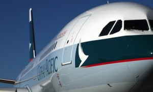 Cathay Pacific has been a long-time partner in the ASPIRE program. (Rob Finlayson)