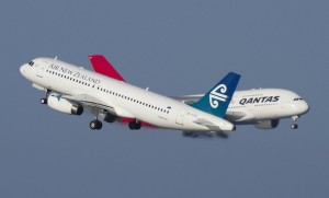 As Air New Zealand shares remained buoyant, Qantas shares continued to dive to their lowest point this year. (Seth Jaworski)