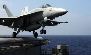 The US Navy has taken delivery of 490 of 563 planned Super Hornets and 90 of 135 planned Growlers. (US Navy)
