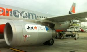 Jetstar has undertaken a biofuel trial.