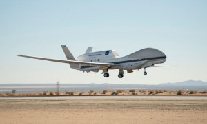 A NASA Global Hawk will be operating in our region until March 2. (NASA)