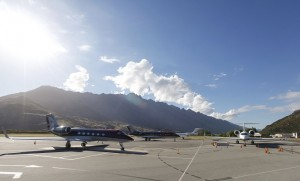 NZ's Queenstown Airport has recorded a 5.1% increase in pax in 2013. (QAC)