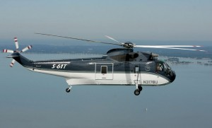 The first refurbished and improved S-61T has flown. (Sikorsky)