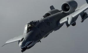 """US Defense Sec Hagel has described the A-10 as a """"40-year old single-use"""" airplane in justifying its retirement. (USAF)"""