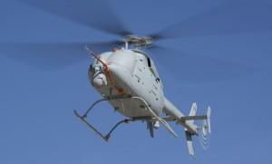 A second MQ-8C Fire Scout has joined the test & development program. ( Northrop Grumman)