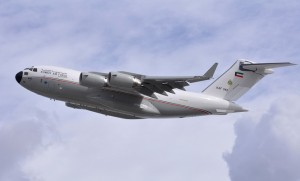Kuwait has become the ninth C-17 operator. (Boeing)