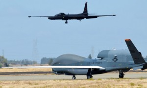 Under the FY15 proposal, the U-2 would be retired in favour of more Global Hawks. (USAF)