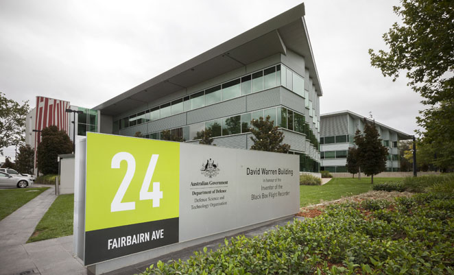 The new DSTO Canberra headquarters named after Dr David Warren. (Defence)