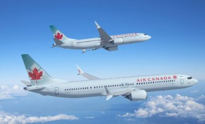 Air Canada has ordered 61 Boeing 737 MAXs and taken options and purchase rights on an additional 48. (Boeing)