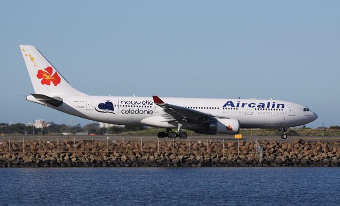 An Aircalin A330 at Sydney. (Andrew McLaughlin)