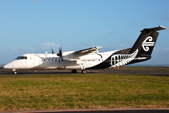 Air New Zealand Air Nelson Q300 ZK-NEQ. (Andrew Aley)