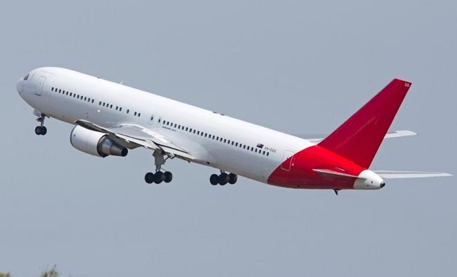 Qantas Boeing 767-300ER registration VH-OGG