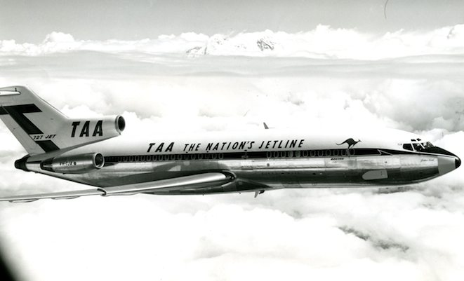A Trans Australian Airlines Boeing 727. (Boeing)