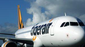 A Tigerair Australia Airbus A320 at Hobart. (Rob Finlayson)